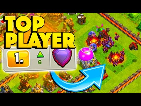 TESTING OUT A NEW TOP PLAYER STRATEGY! - Clash of Clans - I'm Addicted to Air Attacks