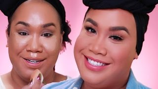 EASY FULL COVERAGE NATURAL MAKEUP TUTORIAL | PatrickStarrr