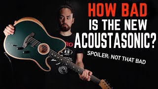How Bad Is The New Fender Acoustasonic?