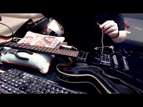 Guitar Shed Diary 016   Epiphone Dot ES 335 EB Tear Down And Rebuild   Part 1