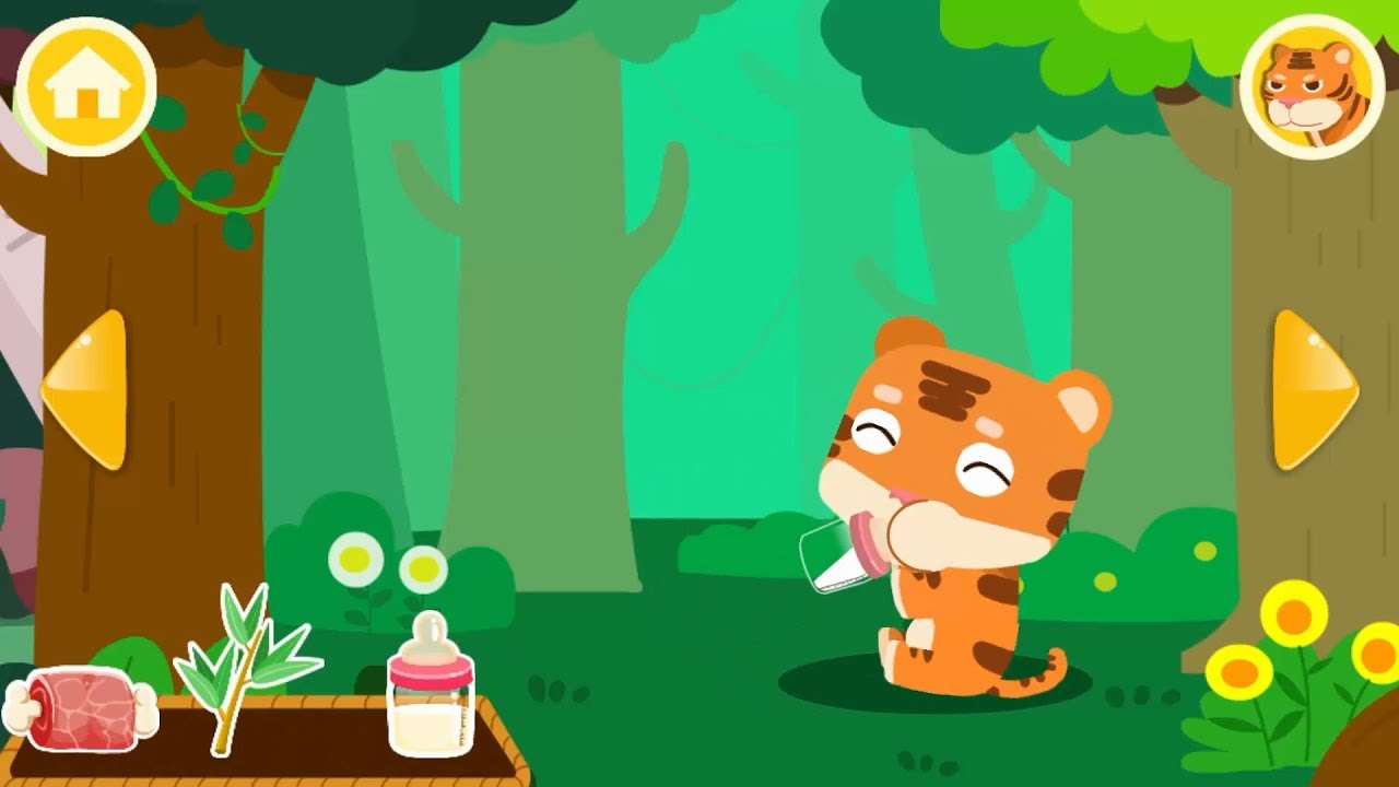 Care for Baby Tiger | Little Animal Care | Learn Animals | BabyBus Game