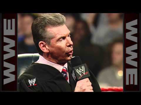 Mr: McMahon fires Eric Bischoff - Raw: December 5, 2005