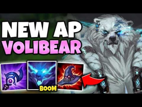 THIS AP REWORKED VOLIBEAR BUILD WILL BE NERFED! (DECIMATE WITH R) - League Of Legends