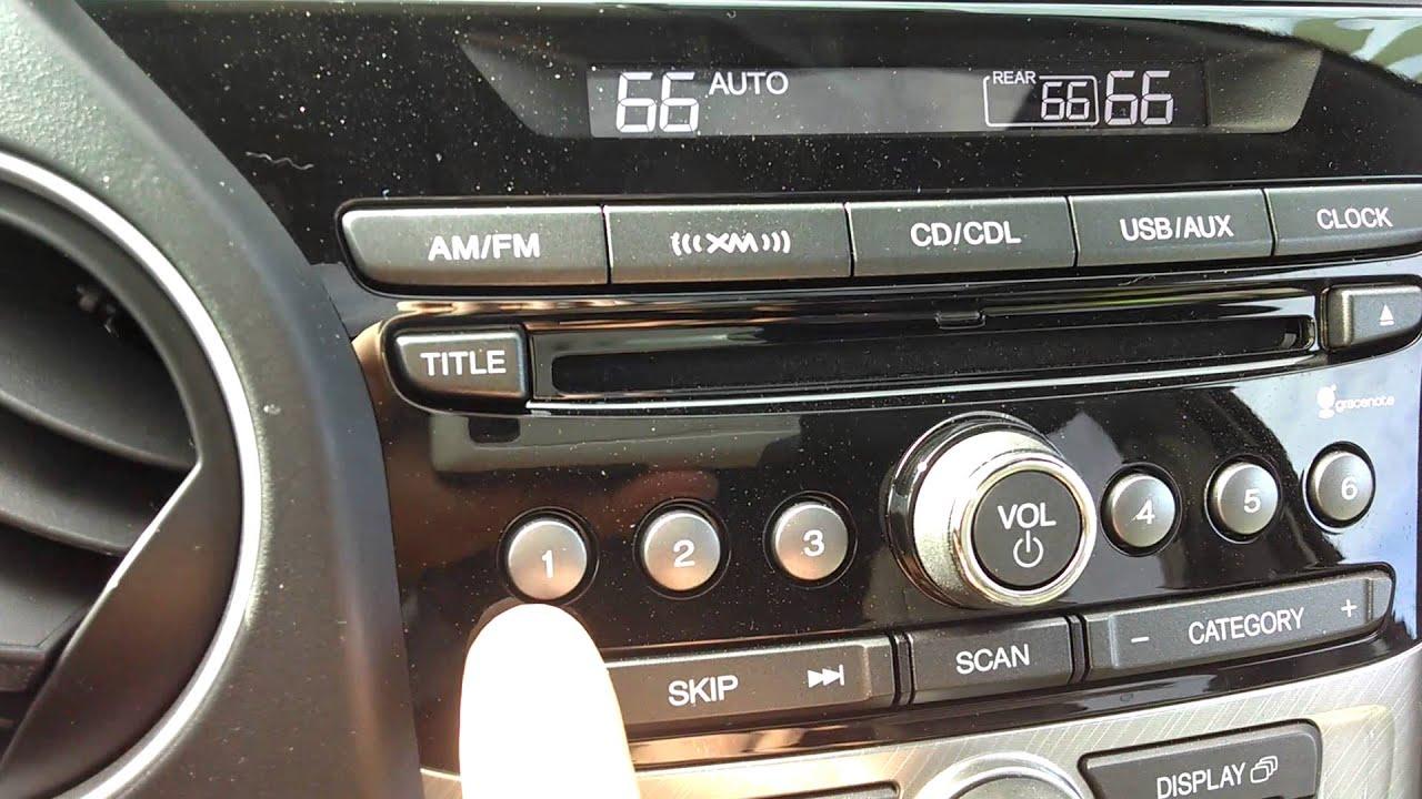 2013 honda pilot audio system mode button [ 1280 x 720 Pixel ]