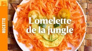 L'omelette du roi de la jungle