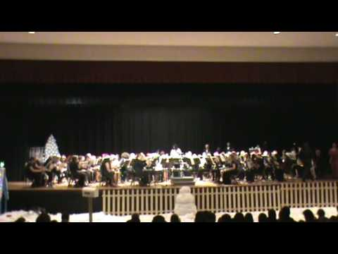 Southern Guilford High School Symphonic Band and GCB Holiday Concert 2016