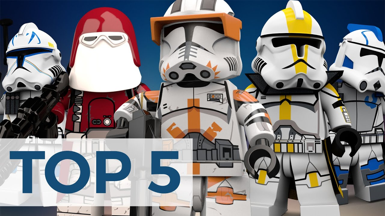 Top 5 Lego Clone Troopers That Should Have Been Made