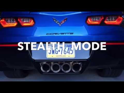 Dual Mode Performance Exhaust Sounds!!! - C7 Corvette