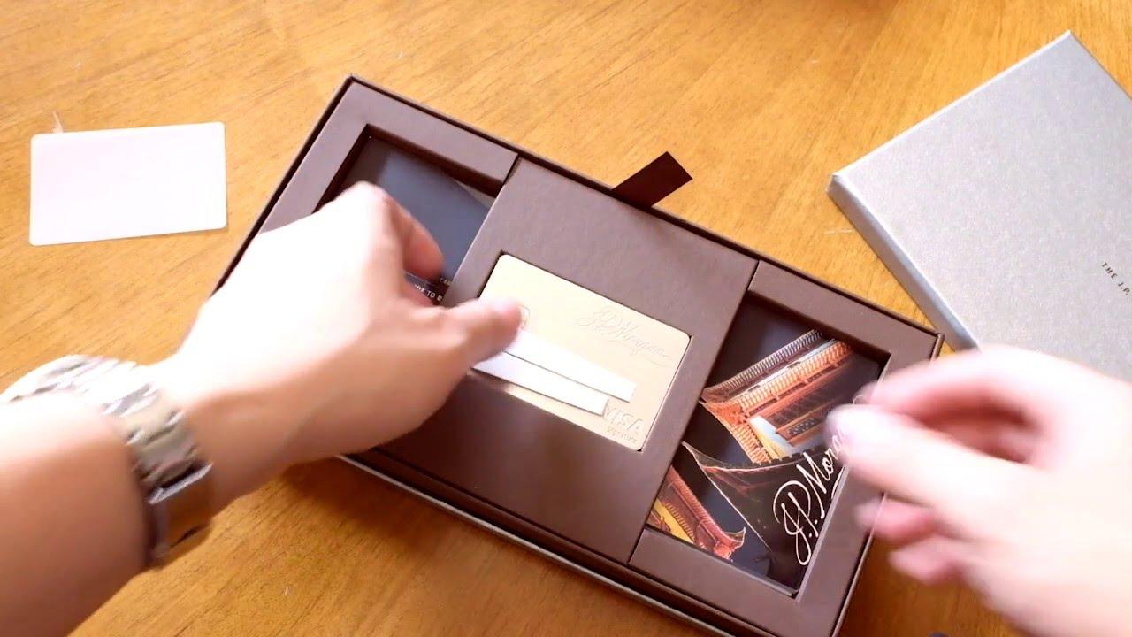 chase palladium card unboxing  youtube