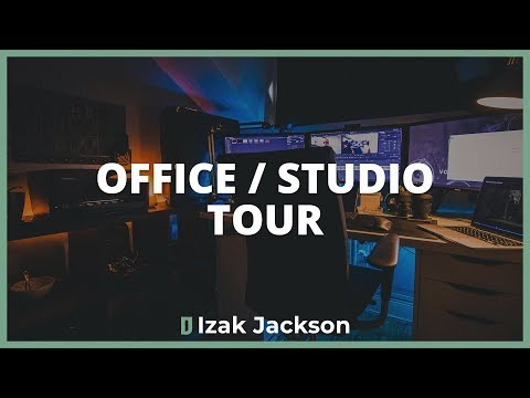 My Home Office / Studio Tour - 2019