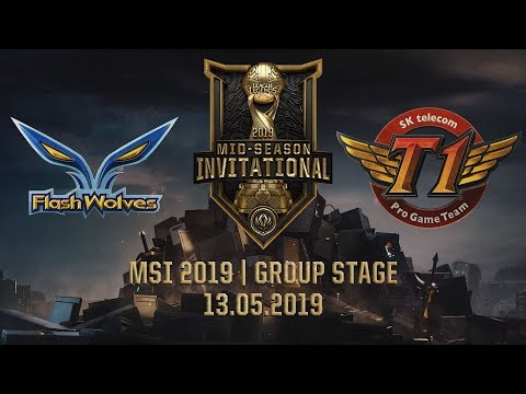 FW vs SKT [MSI 2019] [13.05.2019] [Group Stage]