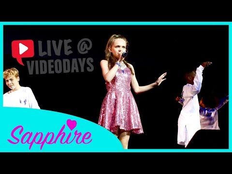 Worth It / Ain't Nobody / Firework / Girlfriend - Sapphire LIVE at VideoDays Cologne 2015