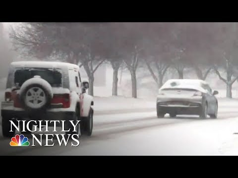 East Coast Braces For Snow As Expected Second Nor'easter Looms | NBC Nightly News
