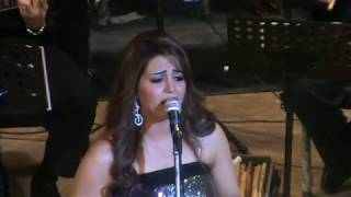 خلاص مسافر - غناء صوت مصر الفنانة ايمان عبد الغنى - مسرح سيد درويش اكاديمية الفنون 11/4/2013