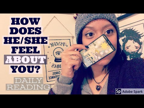 How Does He/She Feel About You Daily LOVE TAROT - Thursday January 18th, 2018