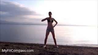 African/Brazilian Dance для начинающих. Африканский танец дома видео урок