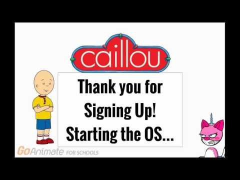 Unikitty gets Mac OS x Caillou (1K Special!)