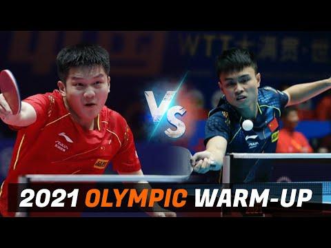 Download Fan Zhendong vs Zhou Qihao | 2021 Chinese Warm-up for Olympic