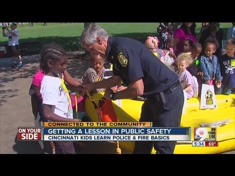 Cincinnati Kids Safety Fair lets children meet first-responders