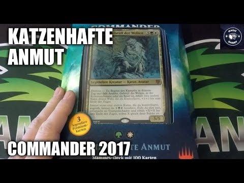 MtG Commander 2017 Unboxing - Katzenhafte Anmut [Deutsch]