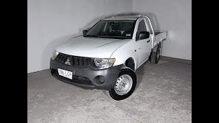 (SOLD) 4×2 Mitsubishi Triton Ute with Alloy Tray 2008 Review