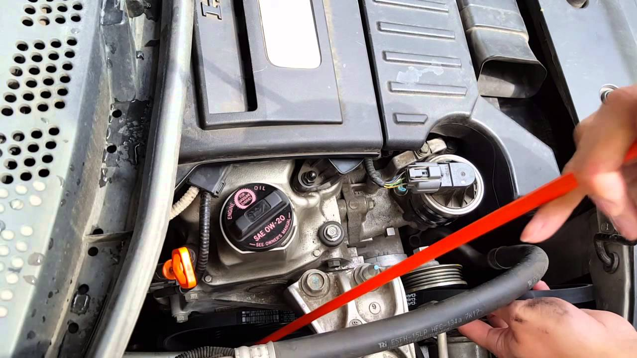 2003 Honda Civic Belt Diagram Tail Light Wiring Chevy Diy Easy Replacing Serpentine On 2006 2009 Hybrid Youtube