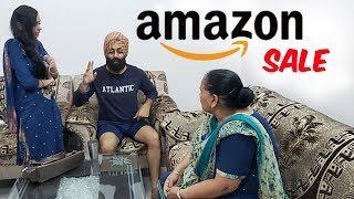 ਕੋਰੀਅਰ ਦਾ ਯੱਬ  Amazon Sale  Hubby Di Wife