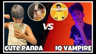 Cute Panda VS Iq Vampire | 1v1 M416 | Kid Gamer | Cute Panda | Pubg Mobile