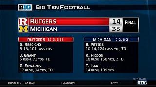 Rutgers at Michigan - Football Highlights