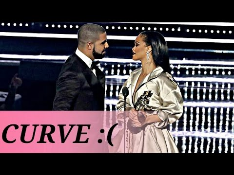 Drake Tries To Kiss Rihanna And Gets Curved And Trips Over Her Dress At The 2016 VMAs MEMEs As Well