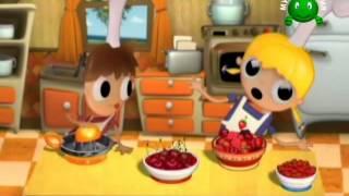 Тельмо и Тула маленькие повара-Фруктовый салат(Самые веселые в мире поварята приветствуют Вас и предлагают всем вместе попробовать приготовить что-нибуд..., 2015-06-11T04:33:20.000Z)