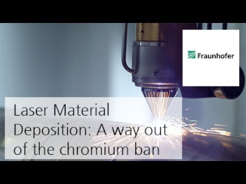 Extreme high-speed Laser Material Deposition: A way out of the chromium ban