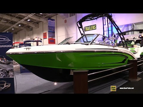 2018 Chaparral 19 H2O Sport Motor Boat – Walkaround – 2018 Toronto Boat Show