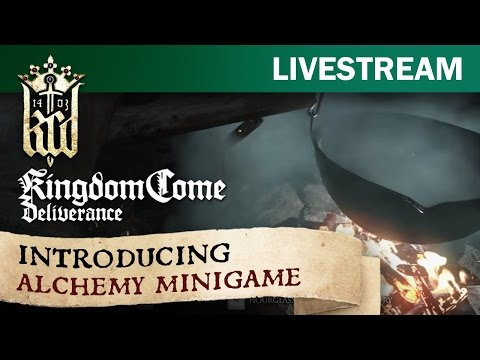 Kingdom Come: Deliverance - introducing the Alchemy quest in Early Alpha