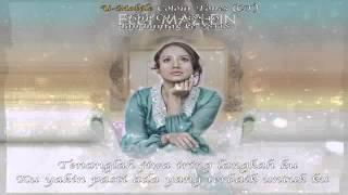 """""""Sabarlah Hati"""" - ELLY MAZLEIN (LIRIK)"""