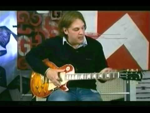 Joe Bonamassa on playing slide guitar 2007