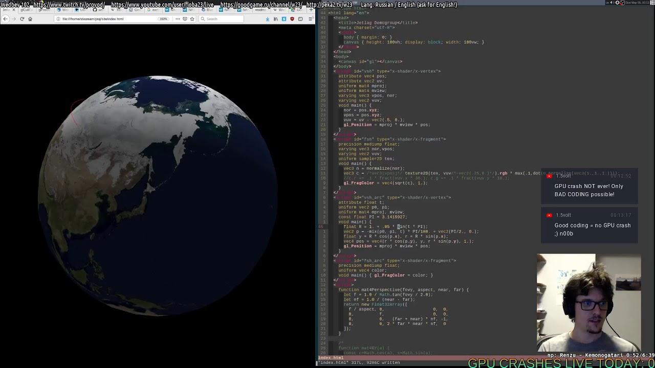 [RU/EN] Wedbev 101: WebGL site from scratch