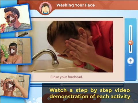 iDo Hygiene Ellie daily life skills activities iPad app demo