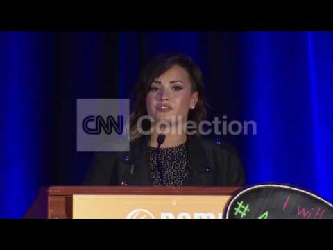 MENTAL HEALTH EVENT-DEMI LOVATO: MY DARKEST TIMES
