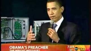 Obama Pastor: God Damn America