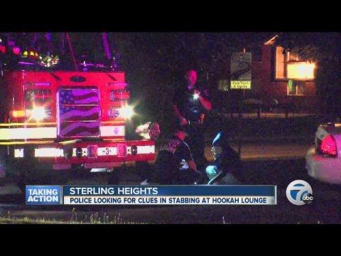 Sterling Heights stabbing outside hookah bar