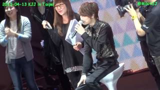 130413 KJJ in Taipei - Charades The Speed Quiz (with Eng Sub)