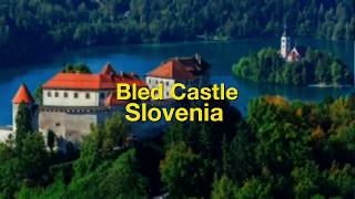 Bled Castle Lake Blejski Grad Slovenia EU by BK Bazhe