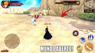 OFICIAL!!! O MELHOR JOGO DE BLEACH 3D MUNDO ABERTO PARA ANDROID (DOWNLOAD+GAMEPLAY) BETA
