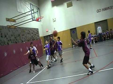 Gavilan View Middle School Basketball Game 2012