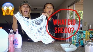 MY MOM MAKES SLIME FOR THE FIRST TIME??? | Txunamy