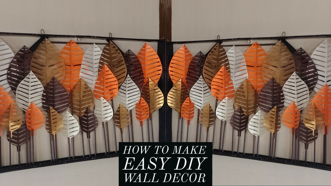 How to make easy diy wall decor