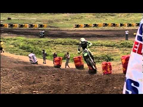 Ricky Carmichael vs James Stewart Battle Unadilla Crash 2005