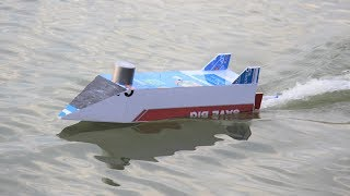 How To Make a RC Boat - Remote Control