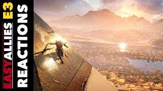 Assassin's Creed Origins - Easy Allies Reactions - E3 2017